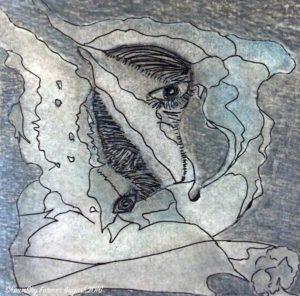 ShawnSky Farmer Painting: Saturn in Aquarius